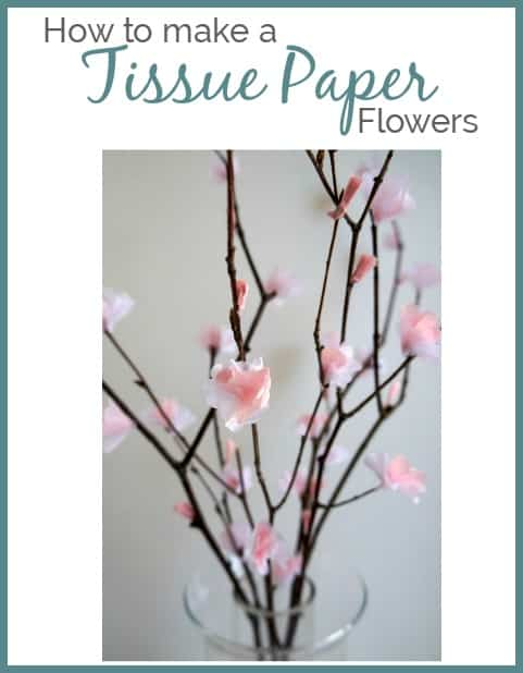 Making paper flowers with tissue paper designed decor i have meant to share this post with you about how to make tissue paper flowers sometimes waiting for the spring blooms takes longer here in ohio mightylinksfo