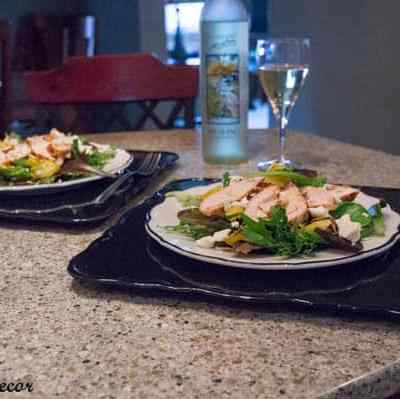 Tantalizing Tuesday – Grilled Chicken Salad using Dole Spring Mix!