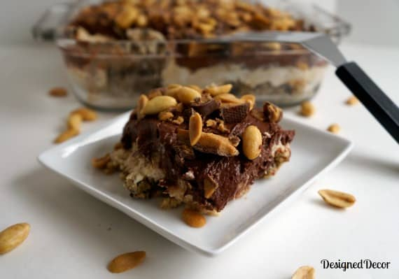 peanut butter dessert