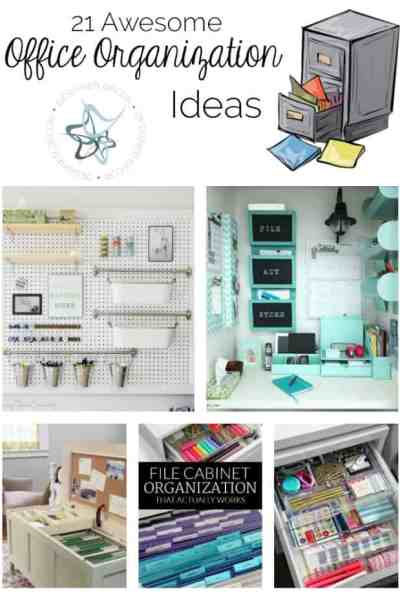 21 Awesome Office Organization Ideas!