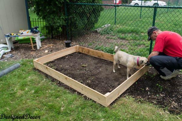 Building a raised garden bed-7