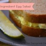 Egg Salad pinnable image