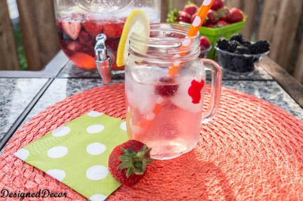 Mixed Berry Limoncello Sangria