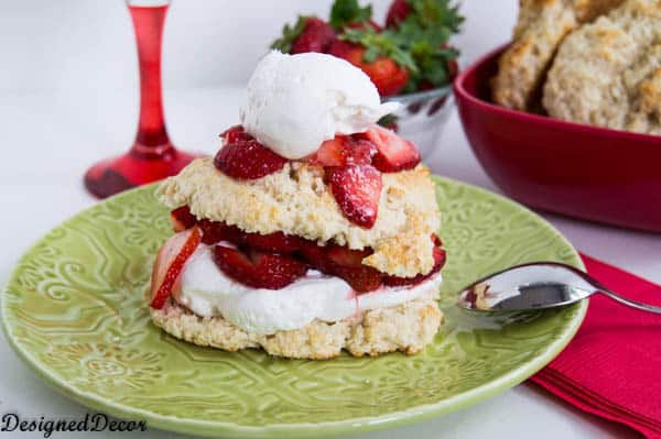 strawberry shortcake recipe-