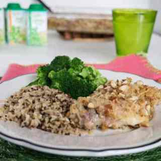 Pretzel and Parmesan Crusted Chicken with Daregal Gourmet!
