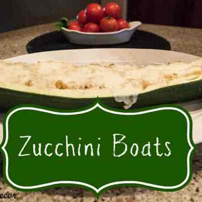 Tantalizing Thursday~ Stuffed Zucchini Boats!