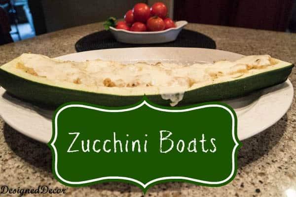 Stuffed Zucchini Boats-