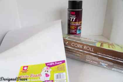 supplies to make a jewelry holder-2