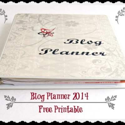 2014 Blog Planner Printables!