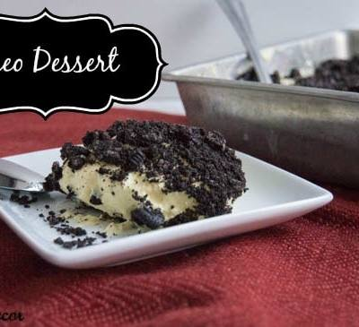 ~ Oreo Dessert ~
