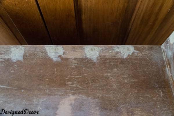 Using Minwax wood filler