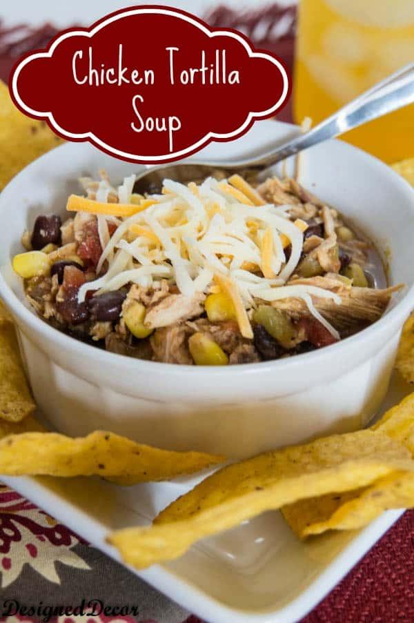 Chicken Tortilla Soup-