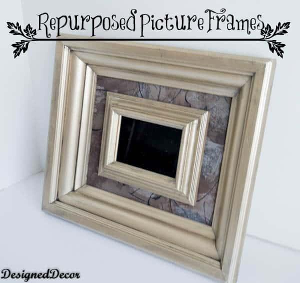 Repurposed Picture Frames