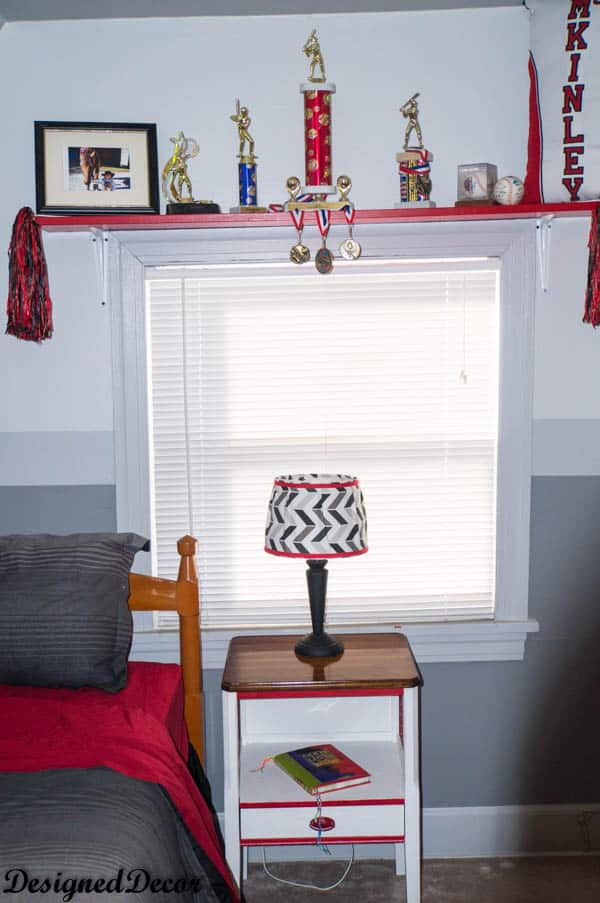 adding color to a boy's bedroom