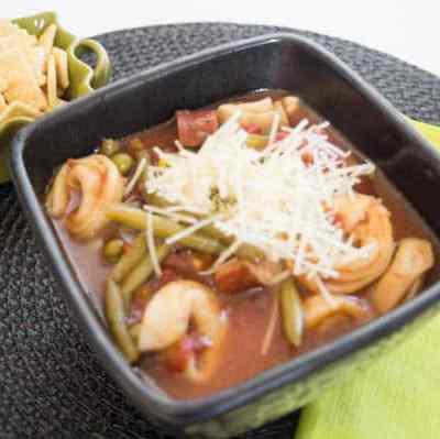 Sausage Tortellini Soup!