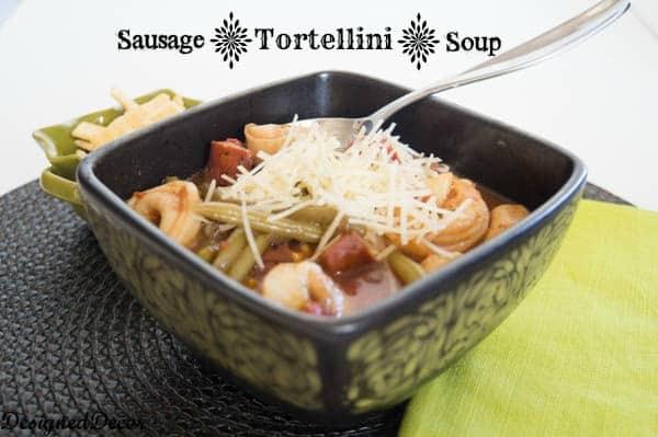 Sausage Tortellini Soup Recipe