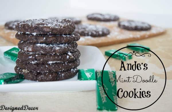 Andes Mint Doodles- Holiday Cookie Round-up