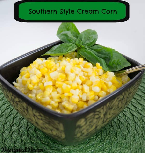 Southern Style Cream Corn