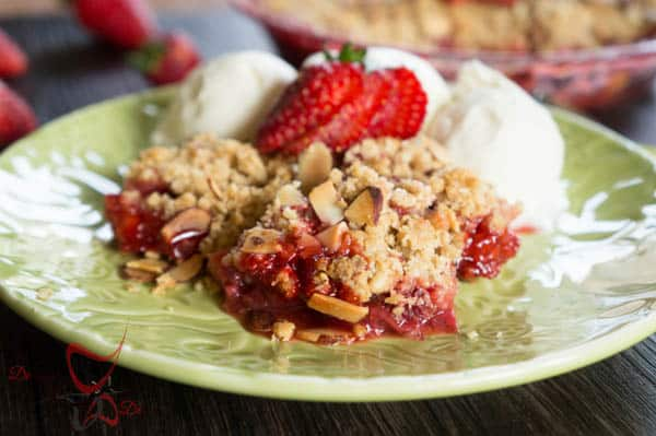 Strawberry Crumb Dessert-9