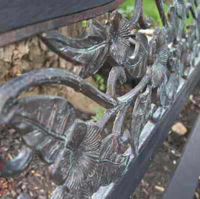 Bench Makeover with Metal Effects by Modern Masters!