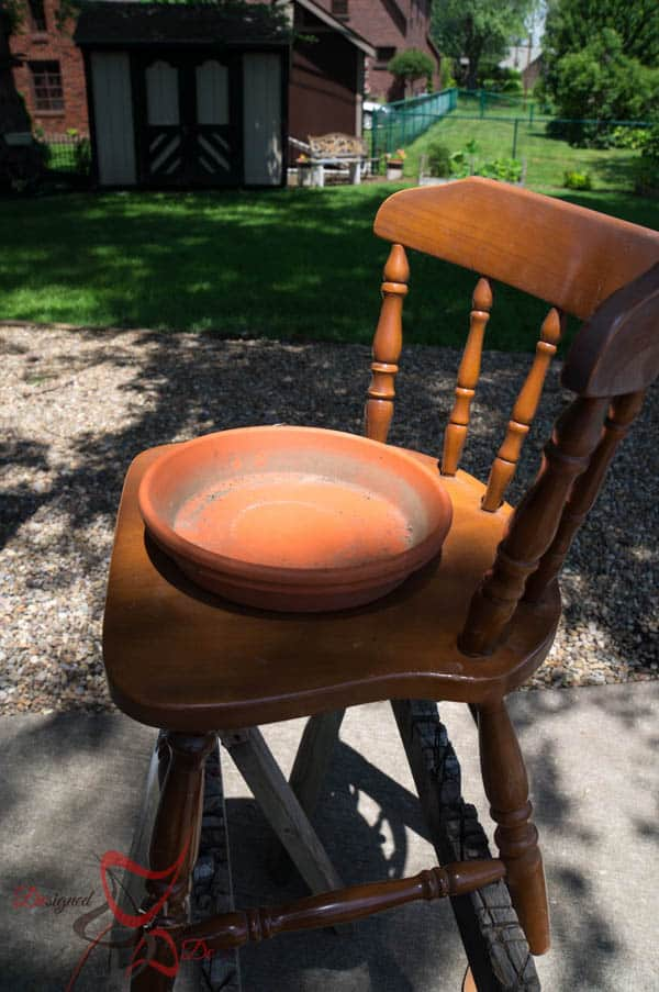 Making a template for Chair Plant Holders-