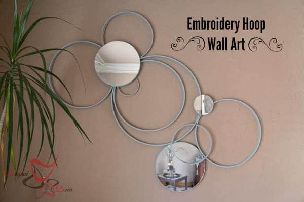 Embroidery Hoop Wall Art-