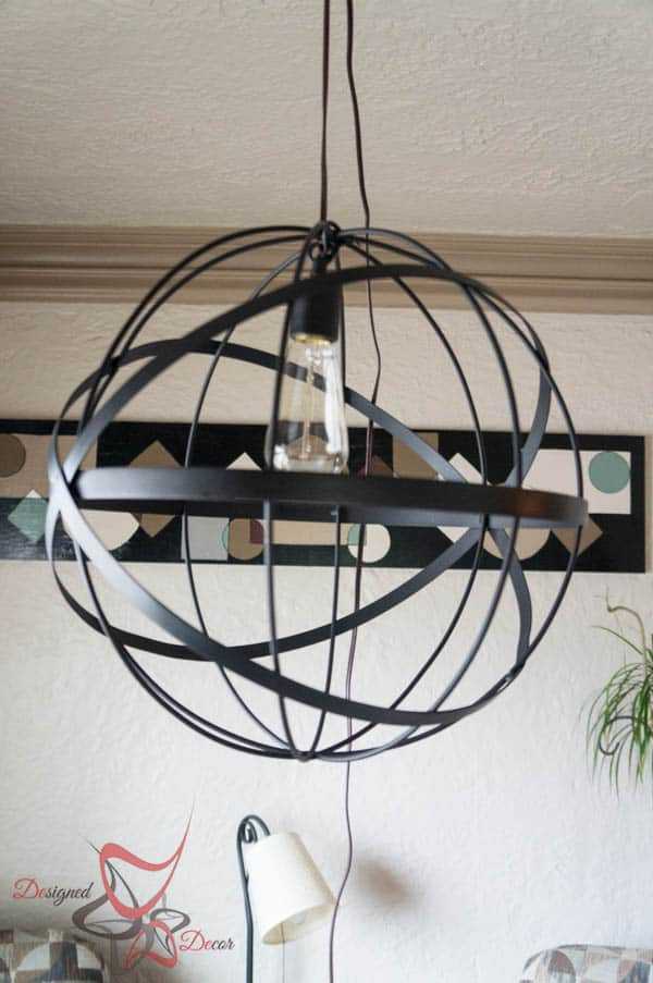 DIY Sphere Pendant Lighting