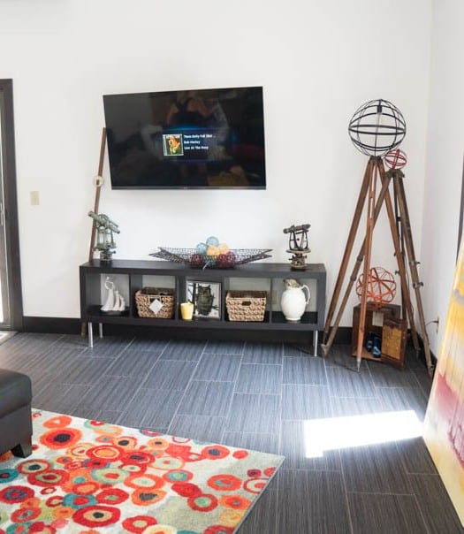 After- custom decorating a space