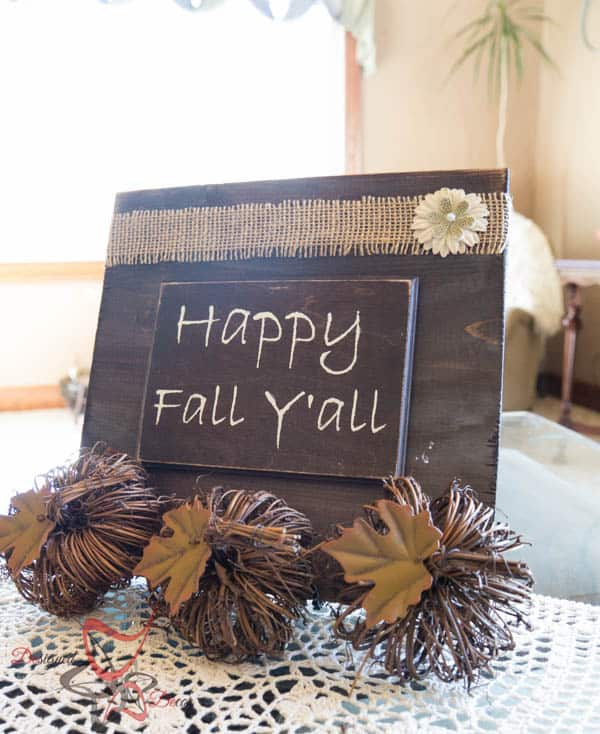 Wooden Plaques for Fall Decorating