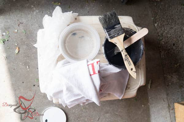 50/50 ration for paint washing