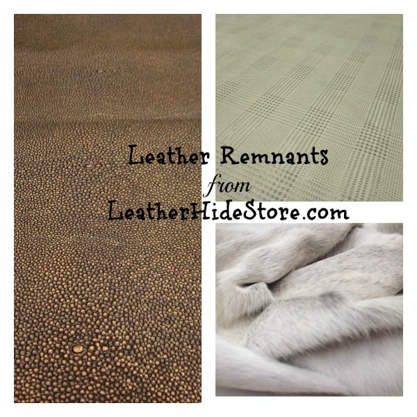 Leather Remnants - Leather Hide Store