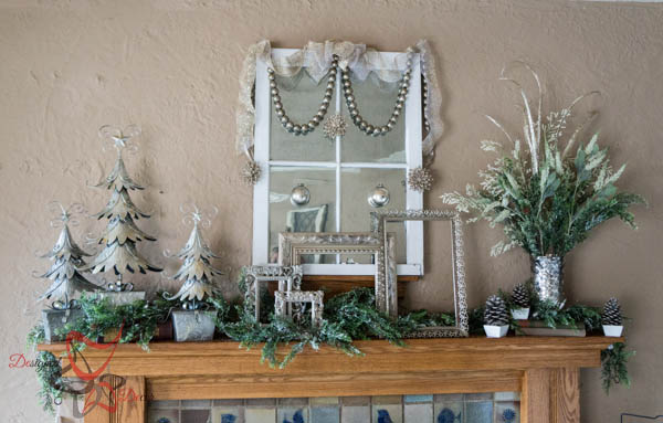 Decorating the Christmas Mantel for 2014