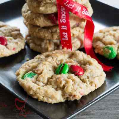 Holiday Oatmeal Cookies!