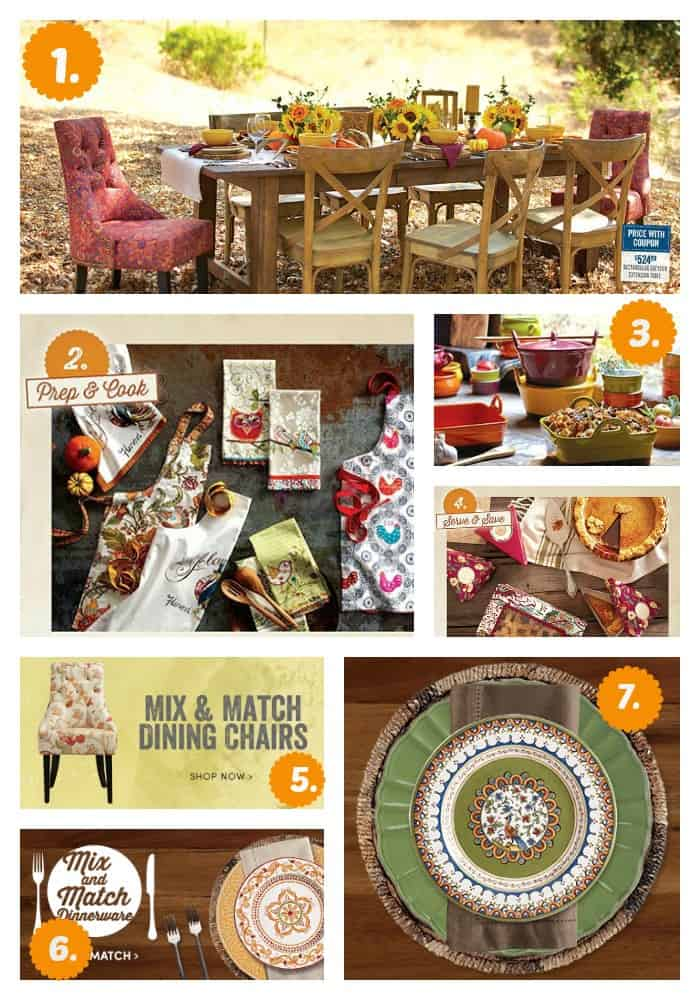 Thanksgiving Entertaining~ Share the Joy~ World Market