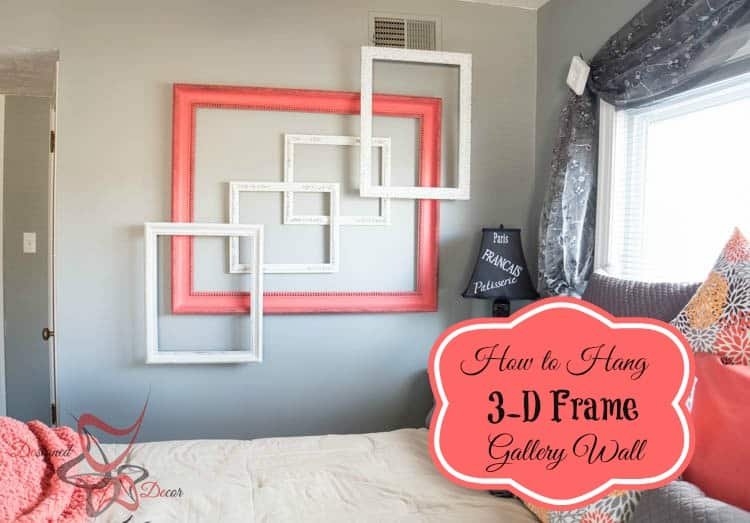 How to Hang a 3-D Frame Gallery Wall