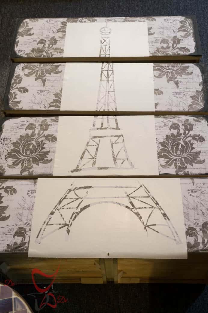 Eiffel Tower Dresser-