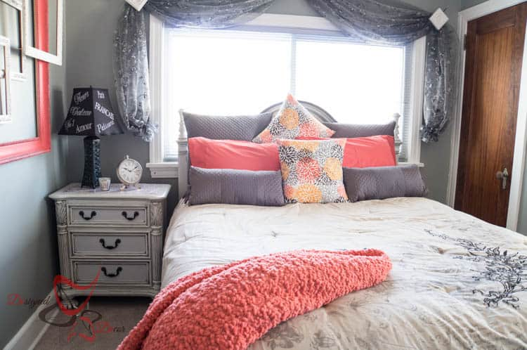 French Guest Bedroom Makeover-