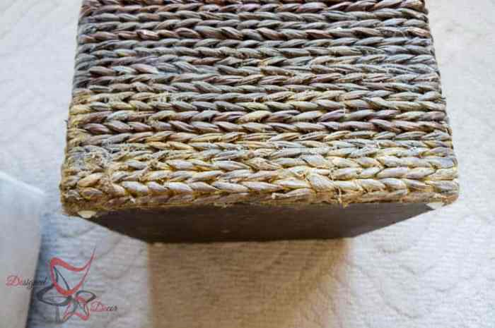 How to Stain a Basket-