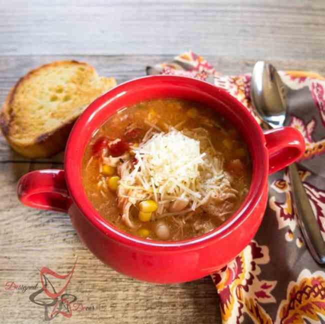 Crockpot Southwest Chicken Soup Recipe
