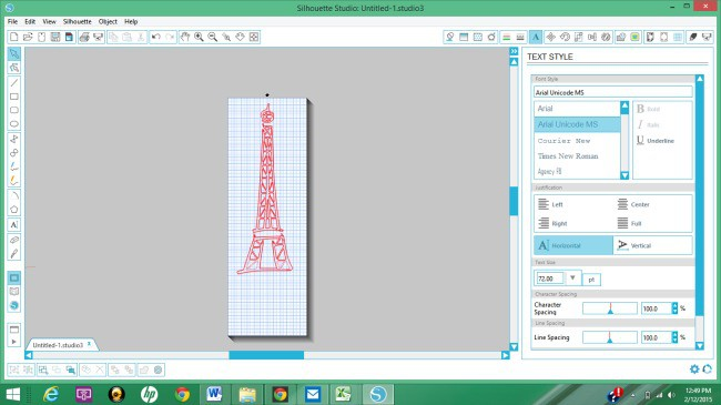 Cutting large images with a Silhouette Cameo