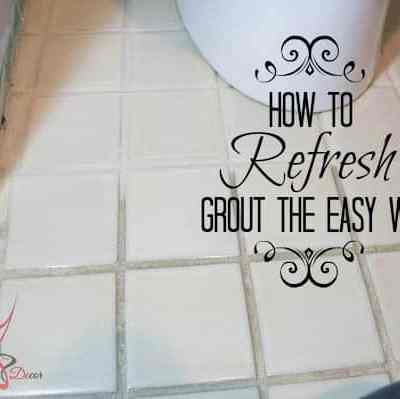 How to Refresh Grout the Easy Way!