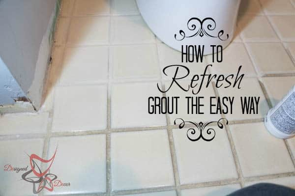 How to Refresh Grout the Easy Way