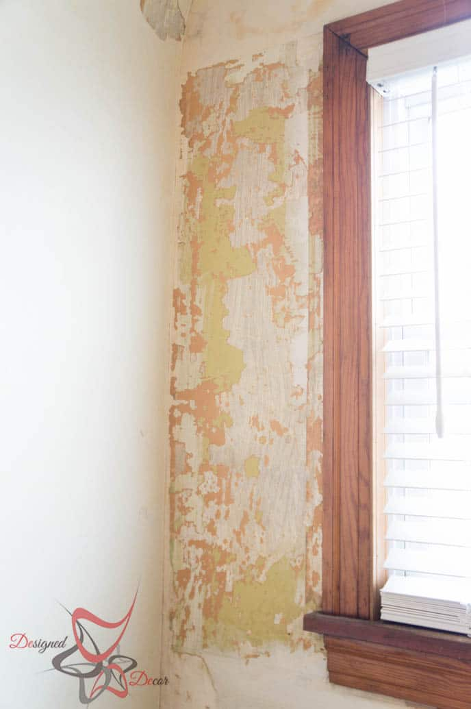 Easy Method Wall Paper Removal-HomeRight-Steam Machine Plus-Simple Steps_-7