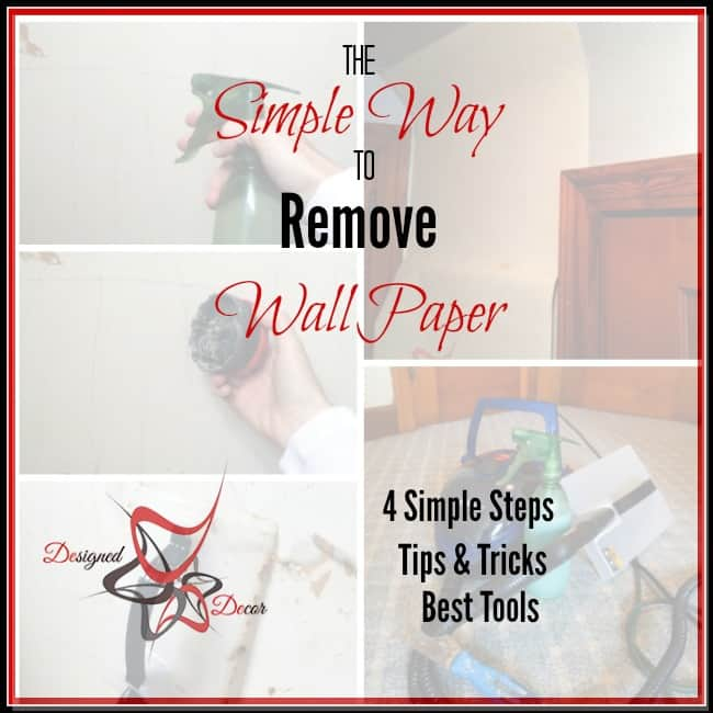 Simple Way To Remove Wallpaper
