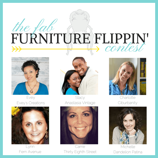 Fab Flippin' Furniture Contest graphic1