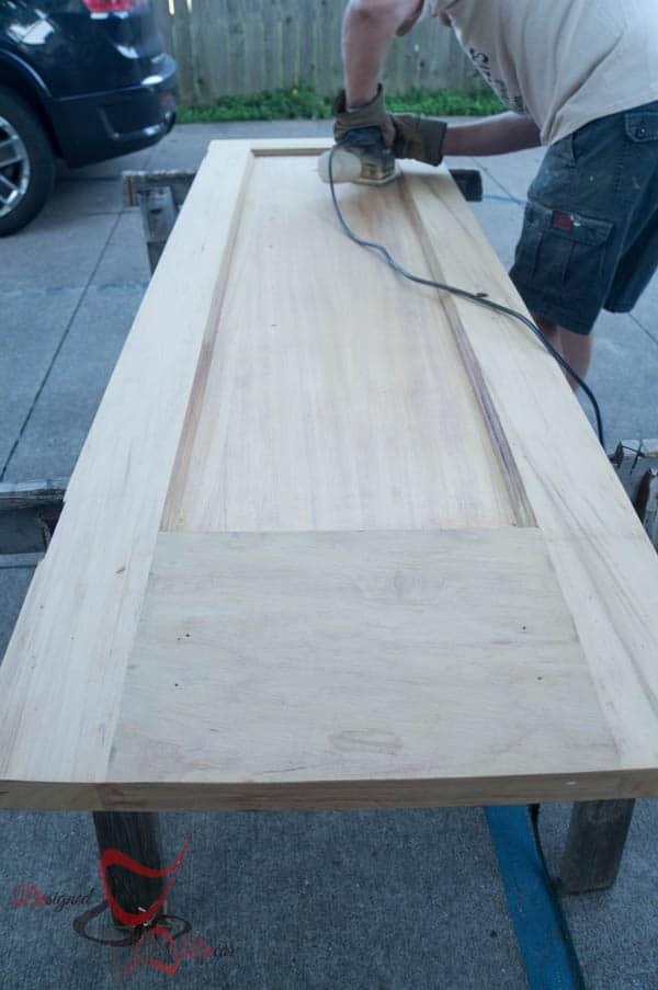How to Refinish Wood Doors-6