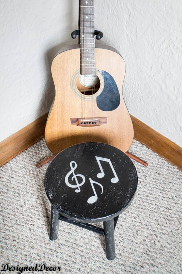 Musical Note Stool-