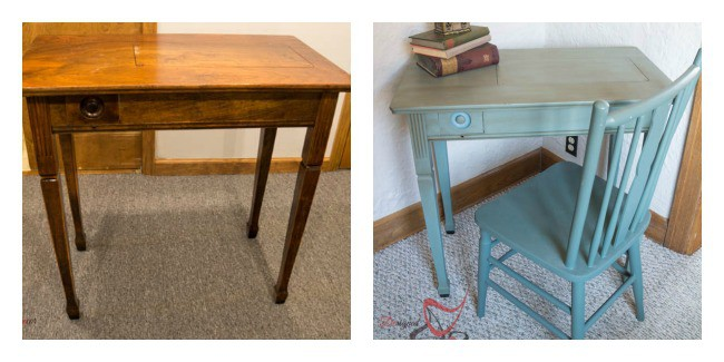 Sewing Table- Furniture Makeovers