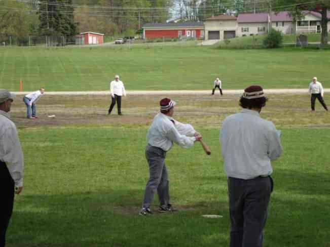 Vintage baseball - Hoover Sweepers