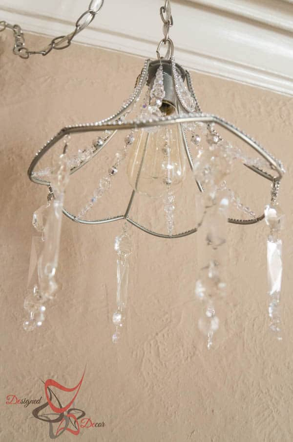DIY Crystal Chandelier-6